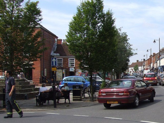 High Street, Spilsby - Panorama #2 of 2