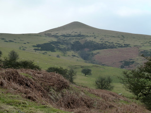 The slopes of Lose Hill