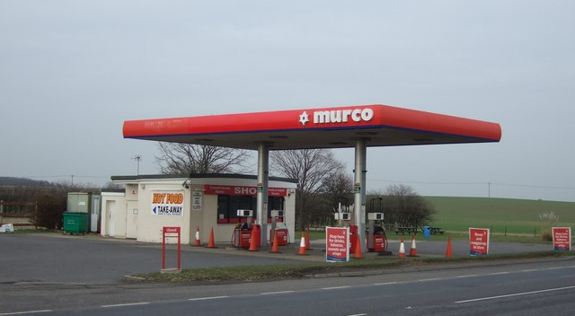 Service station on the A17