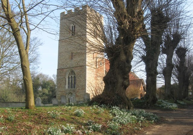 The Church of St. Mary the Virgin.  Elsenham, Essex