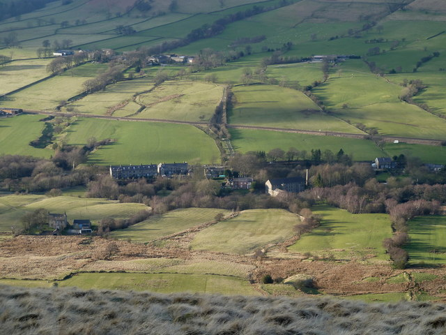 Part of the Edale valley