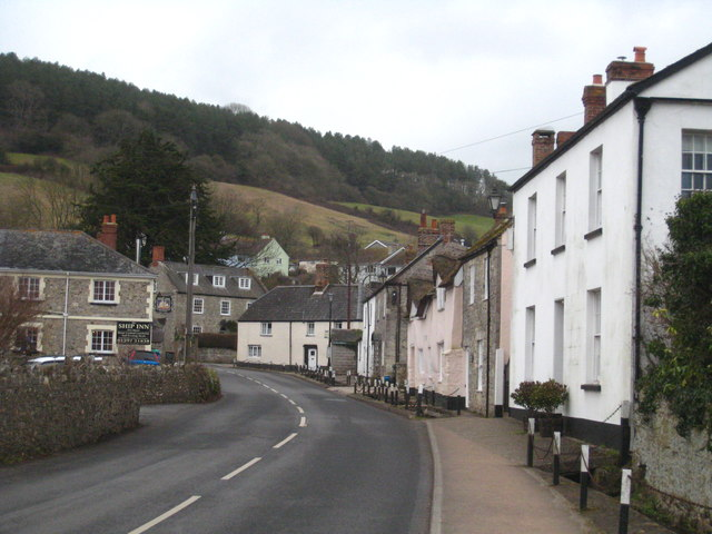 Church Street Axmouth