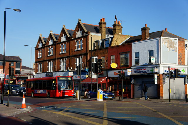 Road Junction at Tooting