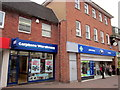 SO9570 : Bromsgrove High Street  Carphone Warehouse & Boots by Roy Hughes