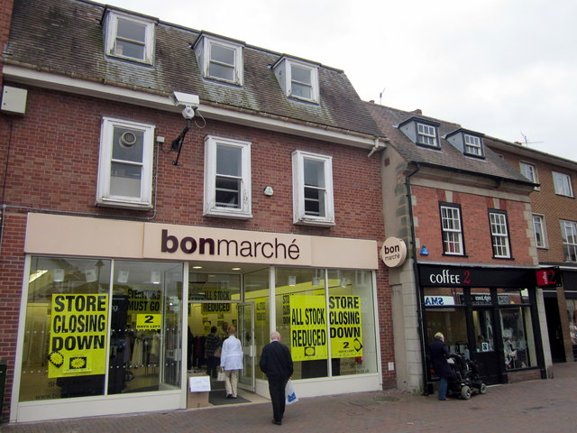 Bromsgrove High Street   Bonmarche & Coffee 2