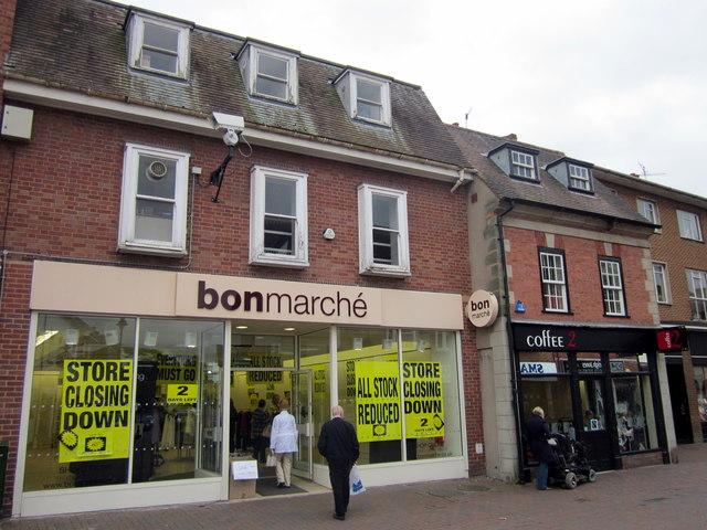 Bromsgrove High Street   Bonmarche & Coffee 2