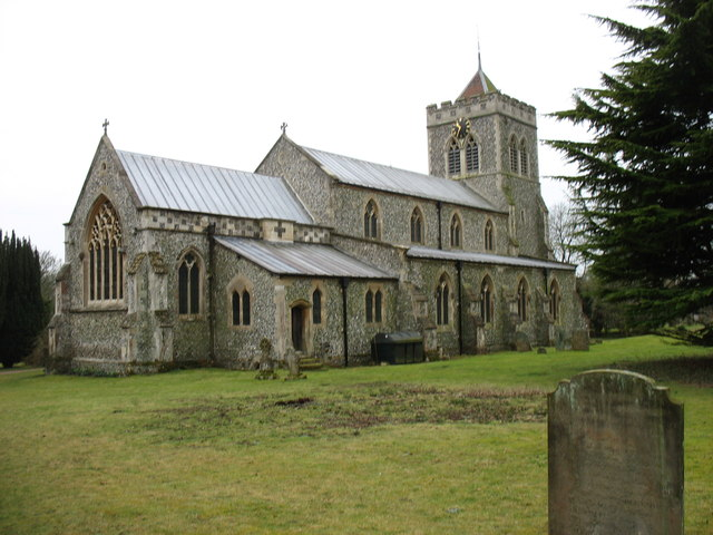 St Mary the Virgin church, Therfield