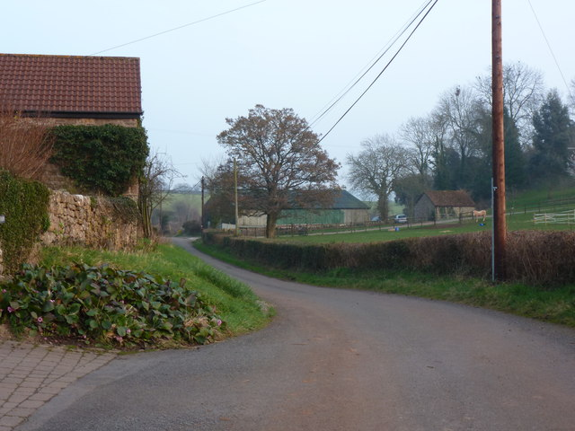 The road at Upper Millbrook, Llanvaches