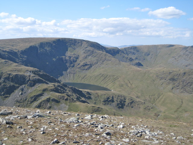 High Street and Blea Water from Harter Fell