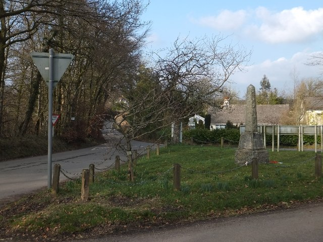 War memorial at Rackenford Cross