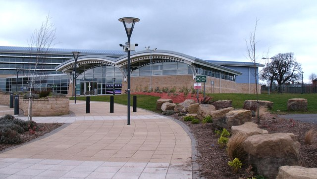 library and leisure centre catterick gordon hatton cc by sa 2 0 geograph britain and