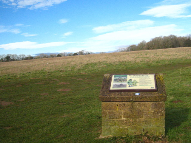 Site of a Roman Villa on Butcher's Hill