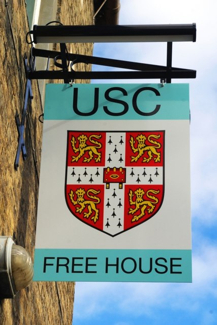Sign for the University Social Club