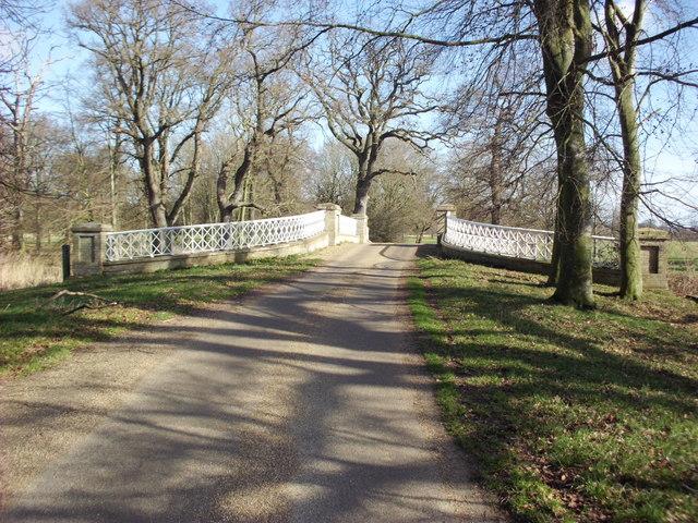 Bridge in Gunton Park