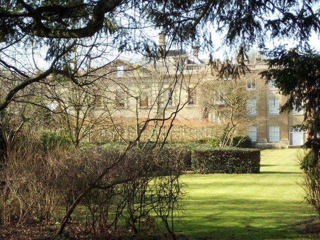 East elevation of Gunton Hall