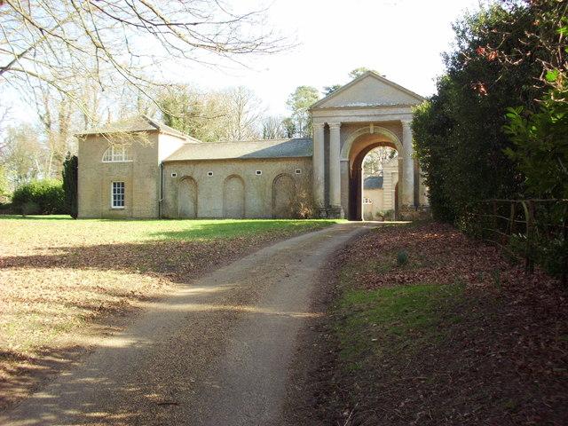 Former stables, Gunton Hall