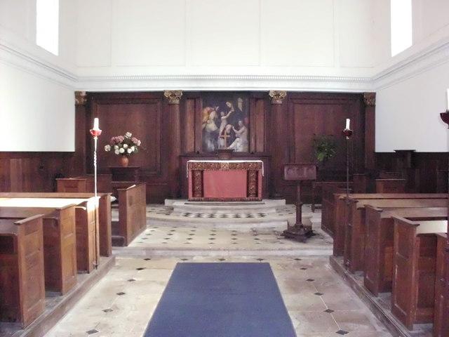 Inside St Andrew's Church, Gunton