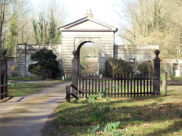 Hanworth Lodges, Gunton Park