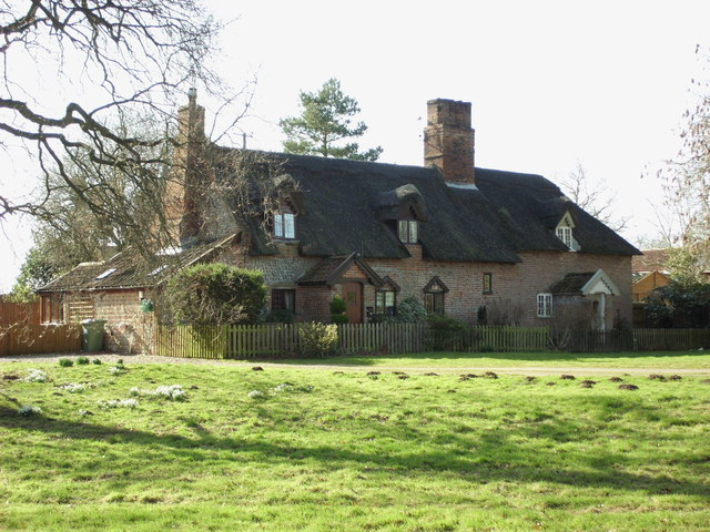 Cottages, White Post Road, Hanworth