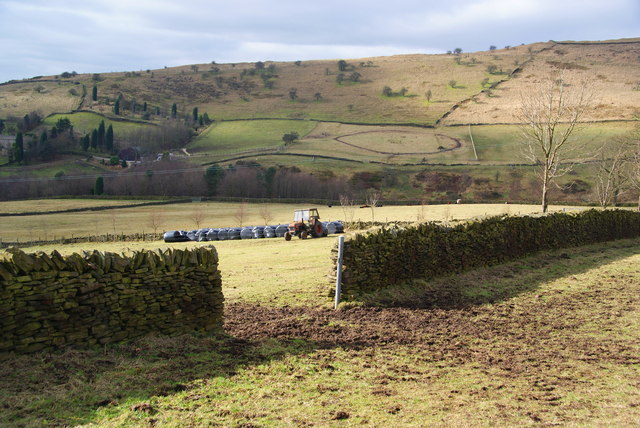 Farmland below Cown Edge