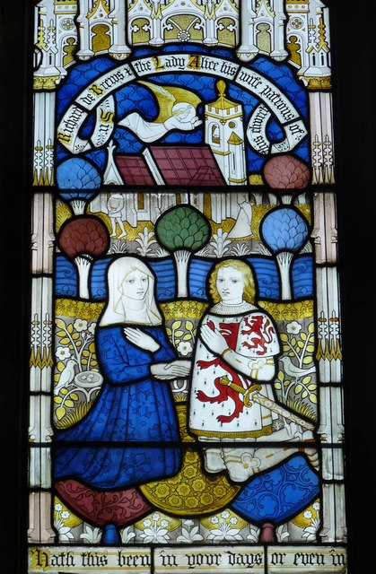 Stained glass detail 2
