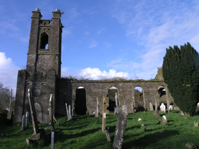 Old Coachford church