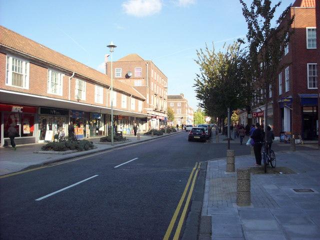 Stonehills Welwyn Garden City centre