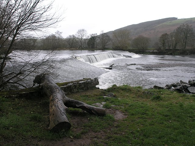 Weir on the Lee