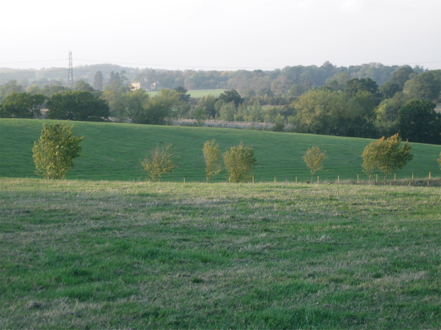 Looking towards Oldberrow from Arden Way