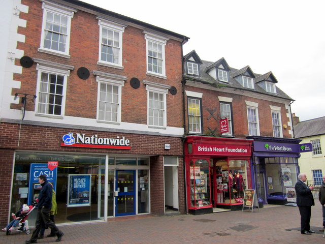 Bromsgrove High Street  Nationwide, British Heart Foundation & The WestBrom