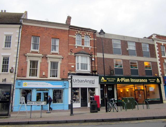 Bromsgrove High Street  Primrose Hospice, UrbanAngel & A-Plan Insurance