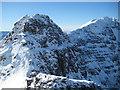 NG9257 : The Fasarinen pinnacles from Liathach Summit by Robert Skipworth
