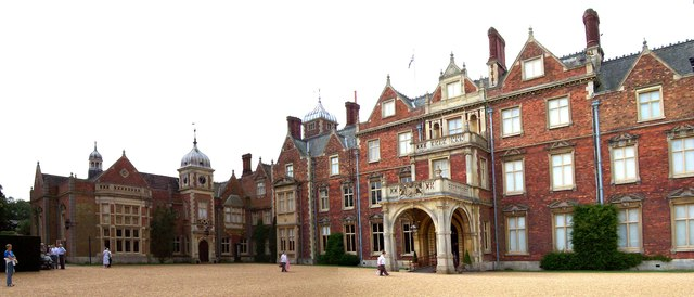 Sandringham House Entrance