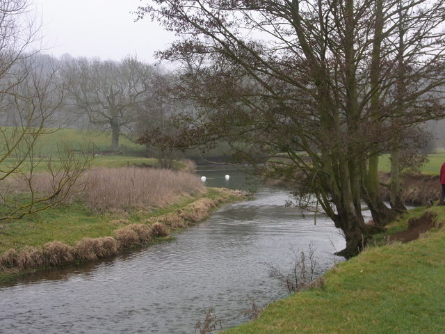 The River Evenlode between Combe and East End