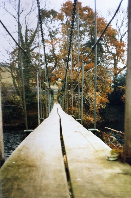 Burn Suspension Bridge