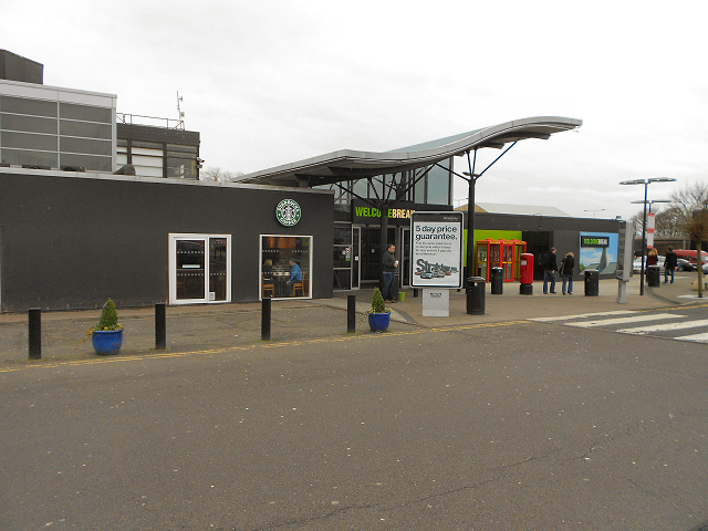 Keele Services, Southbound M6