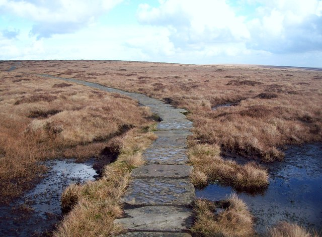 The Pennine Way North of Ashop Head