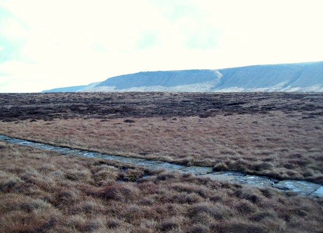 The Pennine Way on Glead Hill