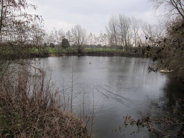 Cambridge Golf Club pond
