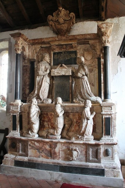 Monument to Francis Williamson, Walkeringham church