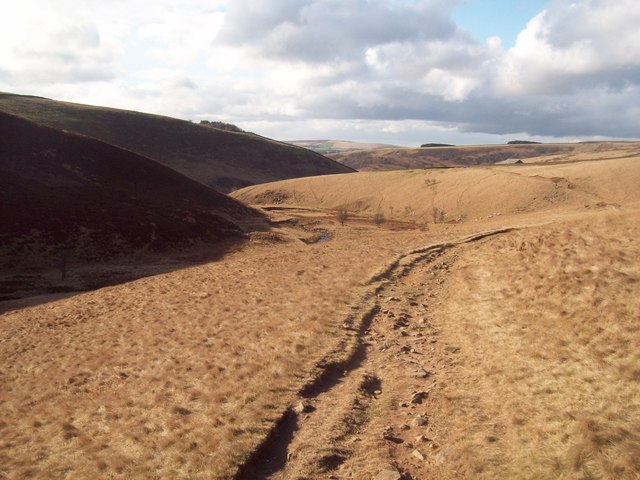 Shelf Brook and Doctor's Gate Path