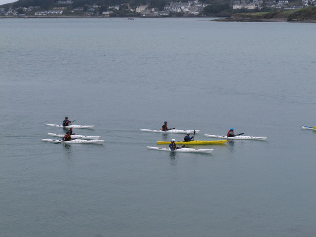 Sea Kayaks by Rock on the Camel