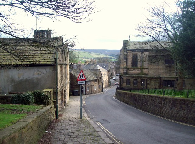 Church Street in Old Glossop