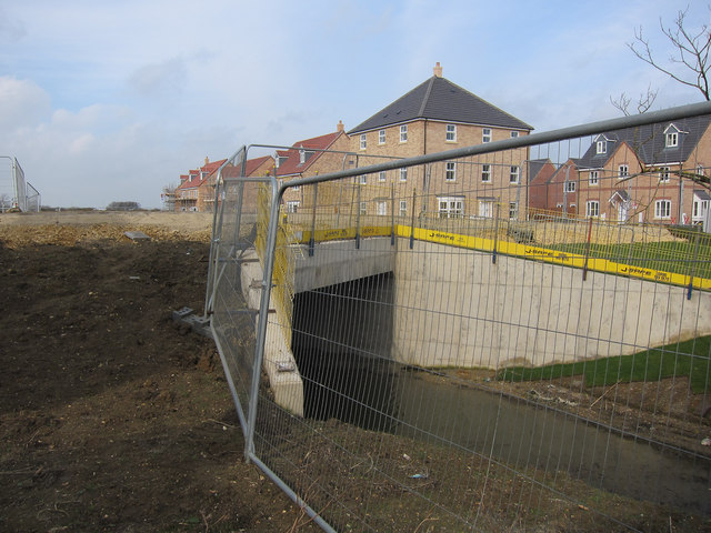New bridge, Longstanton