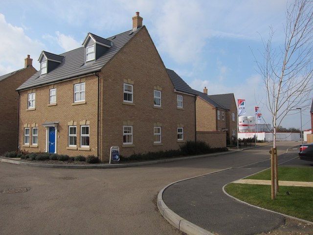 New housing, Longstanton