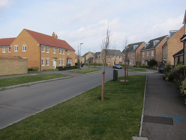Stevenson Road, Longstanton