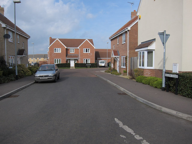 Bullen Close leading to Collingwood Drive