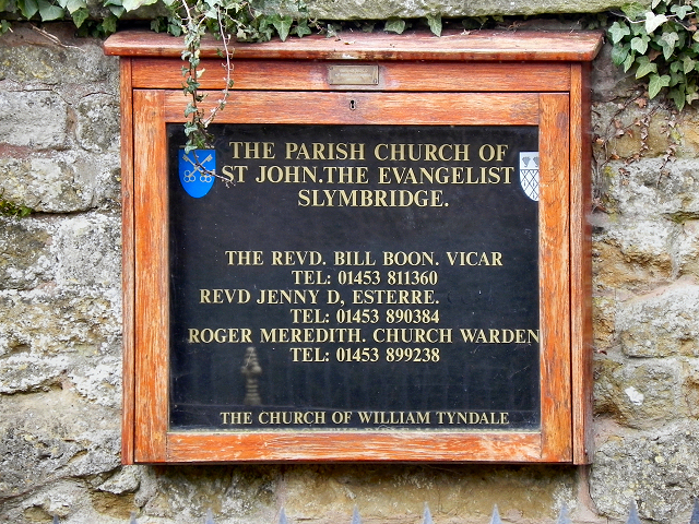 St John's Church (nameboard)