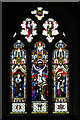 SO7403 : East Window, St John the Evangelist's Church by David Dixon