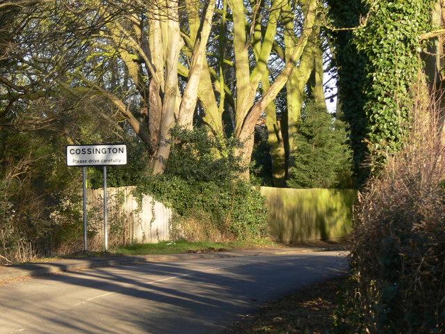 Platt Lane in Cossington